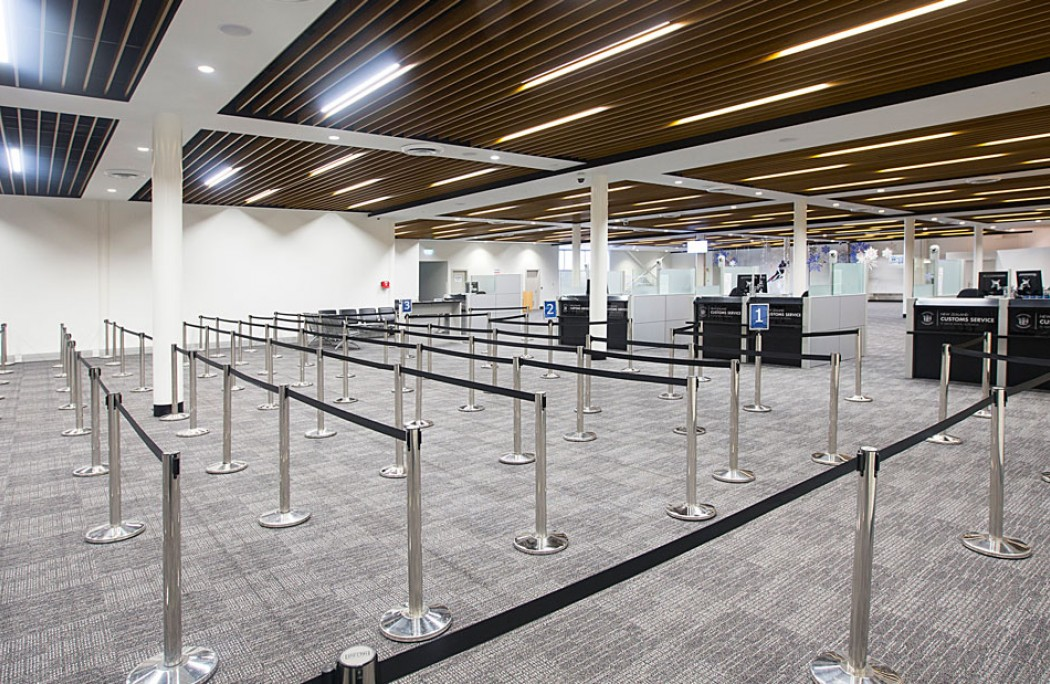 Cook Brothers Construction queenstown airport arrivals